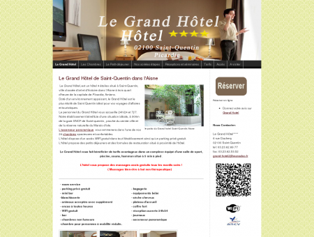 hotels st-quentin Aisne Grand Hotel st quentin ...