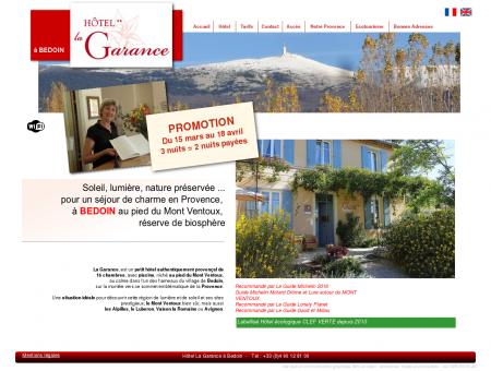 Hotel La Garance à Bedoin - Mont Ventoux en...