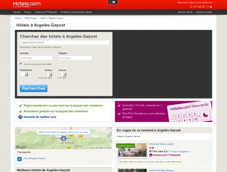 Hôtel à Argelès-Gazost - comparaison et...