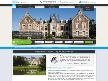Hôtel Saint-Omer - Hôtel Château Tilques  ...