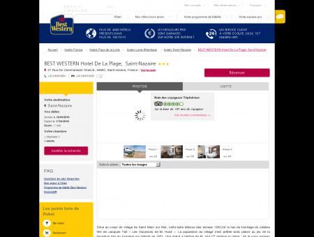Hotel Saint-Nazaire BEST WESTERN Hotel De...