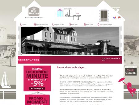 Hotel de la Plage Saint Nazaire Vue mer sur la...
