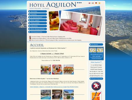 Hôtel Aquilon : Hôtel 3 étoiles La Baule  Saint ...