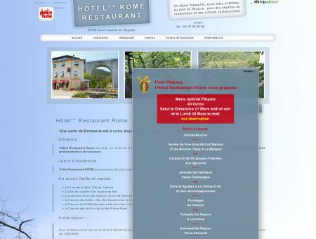 Hôtel** Restaurant Rome (2 étoiles) à Saint...