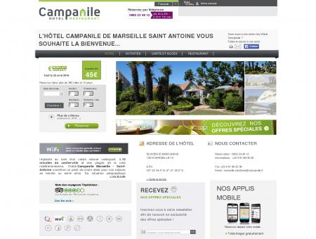 Campanile MARSEILLE | Proche Saint Antoine |...