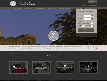 Villa Saint Antoine : hôtel et restaurant à...