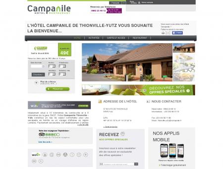 Campanile THIONVILLE | Proche Yutz | Site...