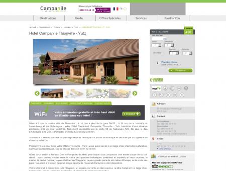 Hotel Campanile Thionville - Yutz | Campanile