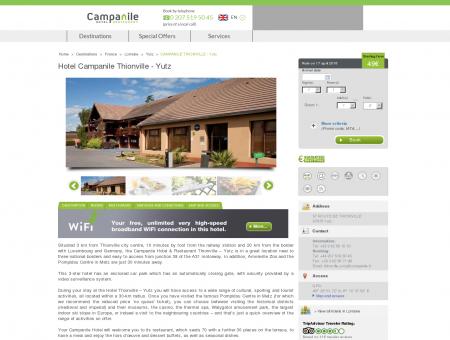 Hotel Thionville - Yutz | Campanile | Campanile hotels