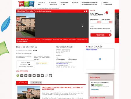 Hotel pas cher YUTZ - ibis Thionville Porte du...