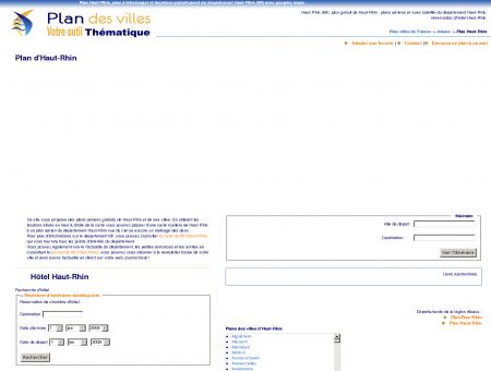 Plan Haut-Rhin (68) : plan gratuit Haut-Rhin à ...