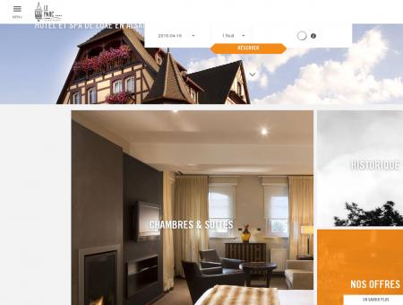 ~ Hôtel du Parc, hôtel spa en Alsace, à Obernai...