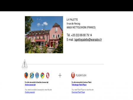 ~Hotel restaurant Alsace | La Palette, 3 étoiles -...
