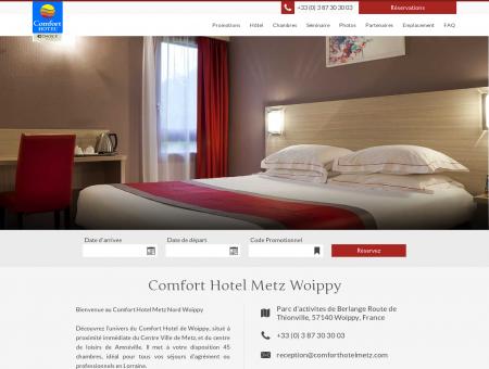 Comfort Hotel Metz Woippy: -15% Code...
