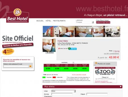 Hotel Metz » Best Hotel Metz - Woippy :...