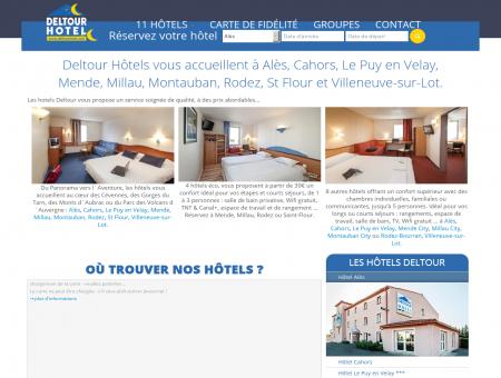 Accueil | Hôtels Deltour