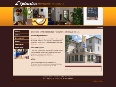 Hôtel Restaurant à Villeneuve sur Lot (47) :...