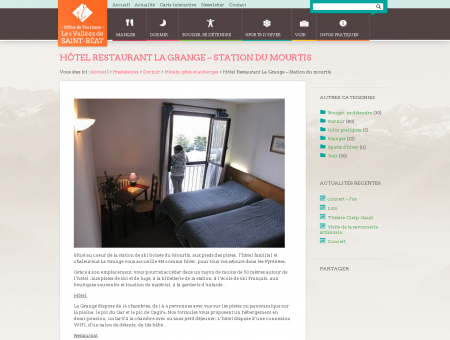 Hôtel Restaurant La Grange  Station du...
