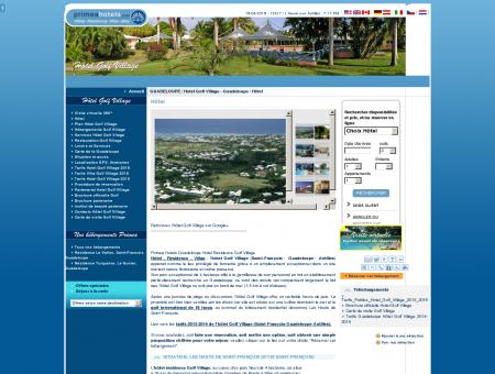 Hotel Golf Village Guadeloupe, Hotel en...