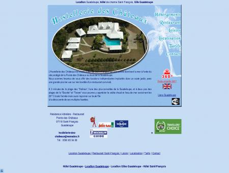 hostellerie des chateaux, location guadeloupe,...