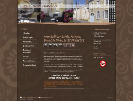 hôtel Sablé sur Sarthe - Hotel ST FRANCOIS -...