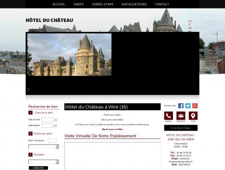 Hotel, Hebergement  Vitré | Hôtel Du Château