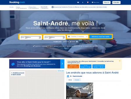 2 Hôtels à Saint-André - Hotel Saint-andre