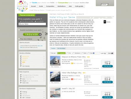 Hotel Vitry sur Seine : 5 hotels pour un prix...