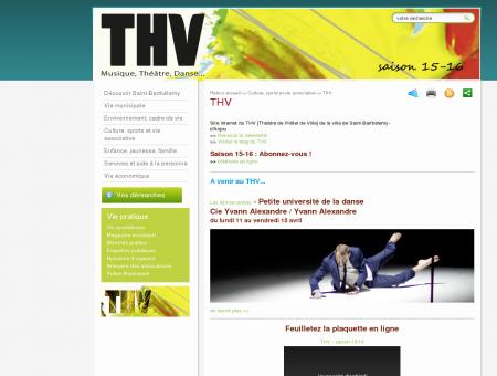 Bienvenue sur le site du THV [Théâtre de l'Hôtel...