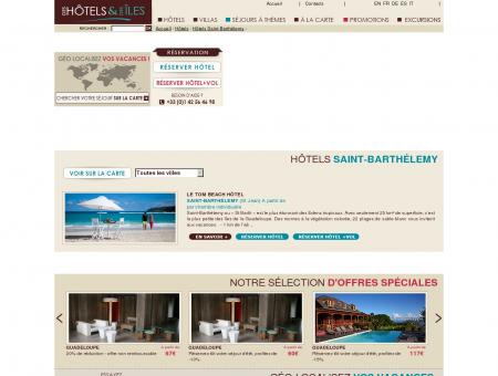 Hotels Saint-Barthélemy - Hotel Guadeloupe,...
