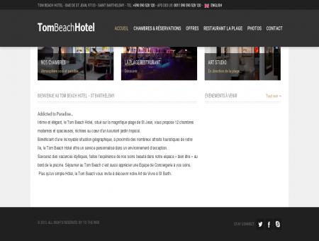 Tom Beach Hotel  Saint Barthelemy |...