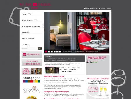 Hôtel & Brasserie Le Saint-Georges à Chalon...