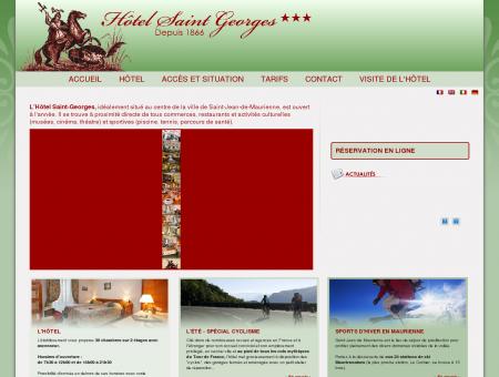 Hôtel Saint Georges à Saint Jean de Maurienne...
