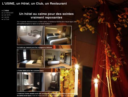 Hôtel - Club - Restaurant L'Usine à Belval