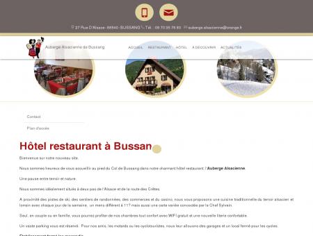 Restaurant, hôtel ' Bussang | L'auberge...