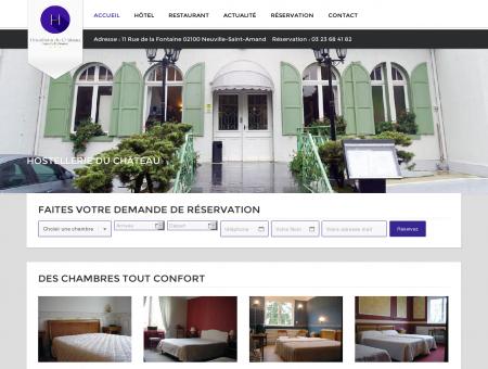 Hostellerie du Château de Neuville-Saint-Amand |