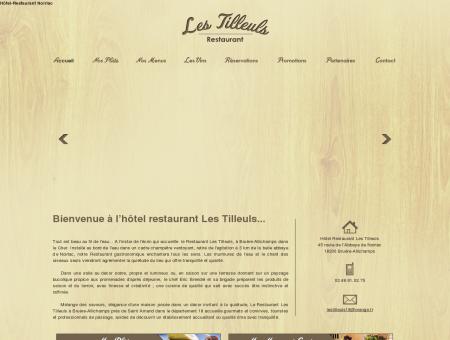 Hotel Les Tilleuls - Hôtel-Restaurant Noirlac,...