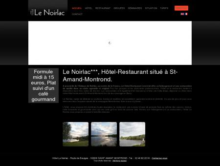 Hotel Restaurant Le Noirlac ***  Saint-Amand...