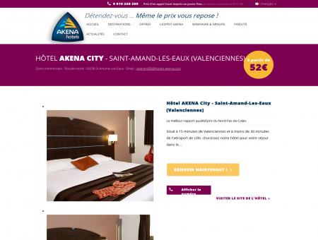 Hotel Saint Amand 3 étoiles| Hôtel Akena