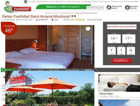 Hotel Saint Amand Montrond - FASTHOTEL....
