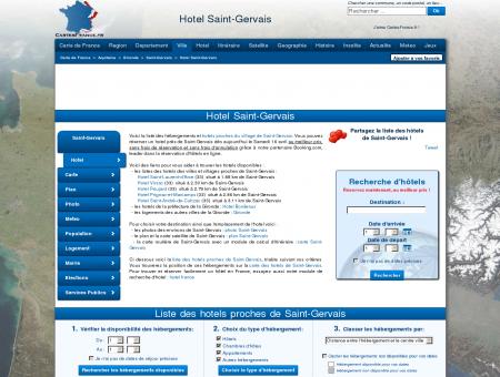 HOTEL SAINT-GERVAIS : Réservation hôtels...
