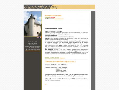 Le Castel-Hôtel - Saint-Gervais d'Auvergne