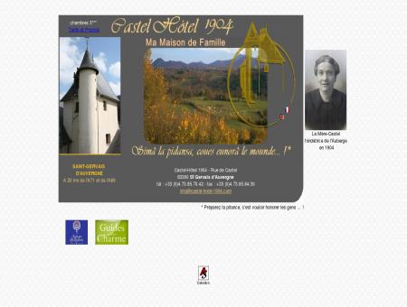 Le Castel-hotel 1904 - Saint-Gervais d'Auvergne