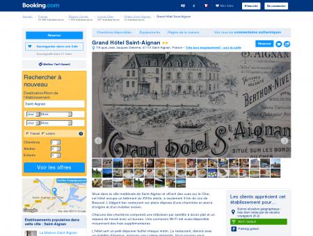 Booking.com: Grand Hôtel Saint-Aignan -...
