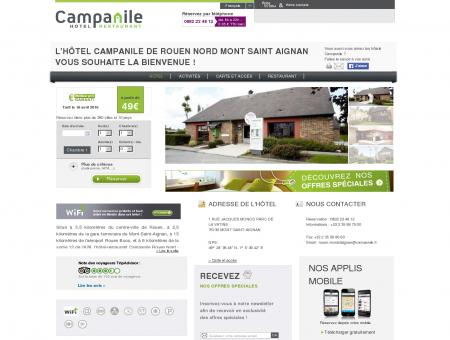 Campanile ROUEN NORD | Proche Mont Saint...
