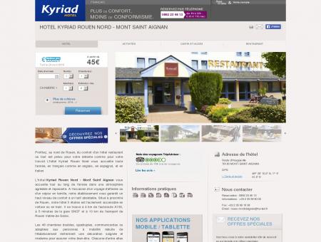 Hotel KYRIAD ROUEN NORD - Mont Saint...