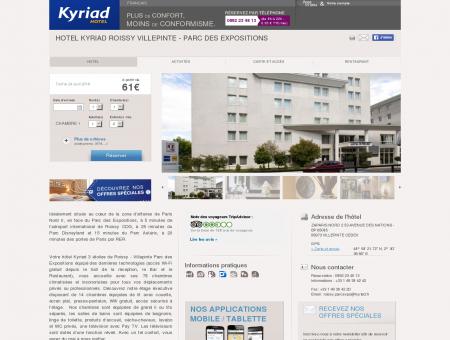 Hotel KYRIAD ROISSY VILLEPINTE - Parc des...