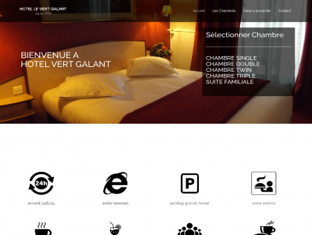 Hotel Le Vert Galant | Hotel Paris