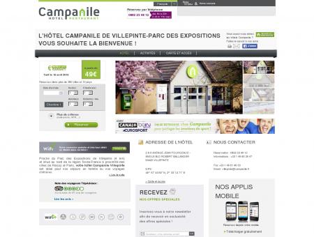 Hôtel CAMPANILE VILLEPINTE - Parc des...