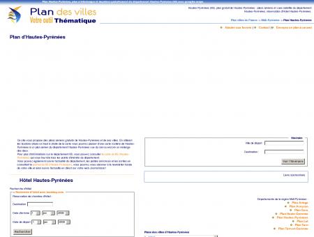 Plan Hautes-Pyrénées (65) : plan gratuit Hautes ...